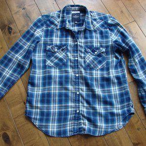 🌈3/$30American Eagle Plaid Flannel Oversize Shirt